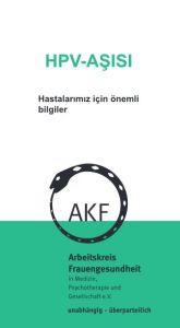 Flyer: Die HPV-Impfung in türkisch