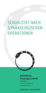Flyer: Sexualität nach gynäkologischen Operationen