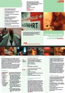 AKF-Flyer Herzinfarkt - in Kooperation mit Senatsverwaltung Berlin, Apothekerkammer Berlin und dem DHZB erstellt