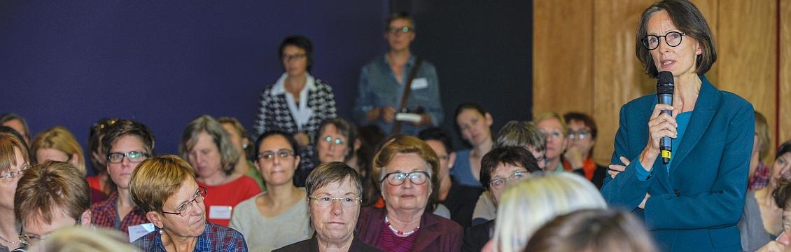 Frauen bei der AKF-Jahrestagung