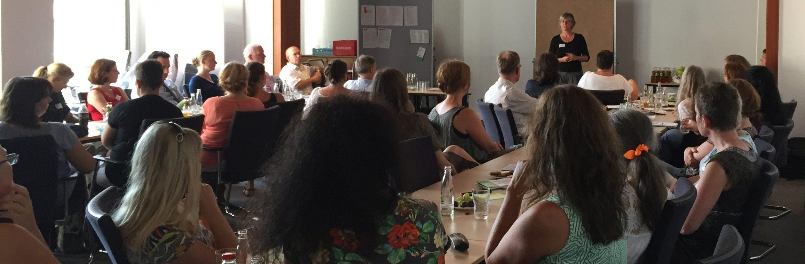 Dr. Dagmar Hertle - Eröffnung des Kick-Off-Meetings für das Bündnis für natürliche Geburt in Wuppertal