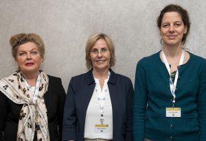 Prof. Dr. Maritta Kühnert, Diplom-Medizinpädagogin Sabine Striebich (AKF), Prof. Dr. Julia Leineweber